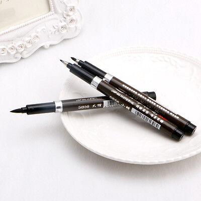 3Pcs Chinese Pen Japanese Calligraphy Writing Art Script Painting Tool Brush Set 5