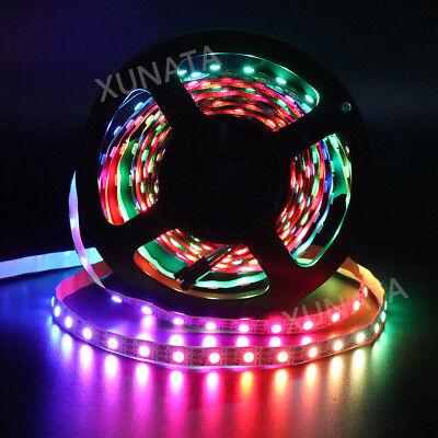 1m 5m 5V WS2812B 5050 RGB 30/60LEDs/M LED Strip ws2812 IC Individual Addressable 7