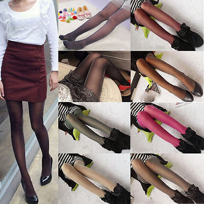 Womens Glitter Shimmer Sheer Shiny Pantyhose Opaque Stockings Tights Hosiery 4