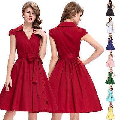 50er 60er Jahre Kleid Abendkleid Cocktailkleid Mode Stretchkleid