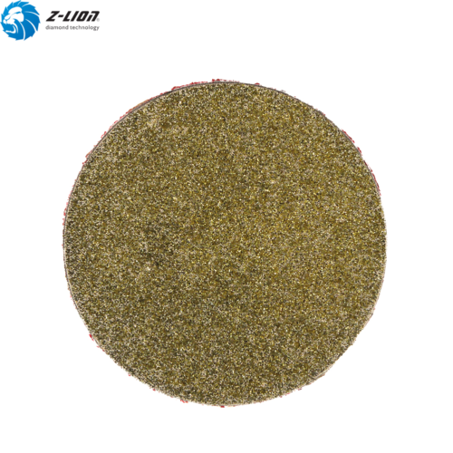 2'' Roll Lock Abrasive Disc GRIT 60 Special Electroplated Wheel Glass Ceramic 4