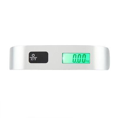 50kg LCD Digital Travel Luggage Postal Hanging Hook Electronic Weighing Scale 7