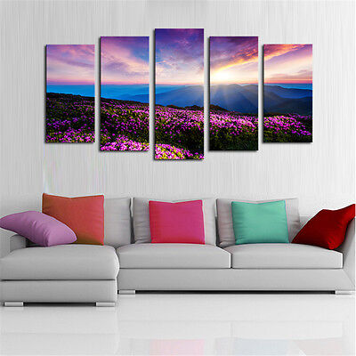 Large Modern Art Oil Paintings Canvas Print Unframed Pictures Home Wall Decor 5