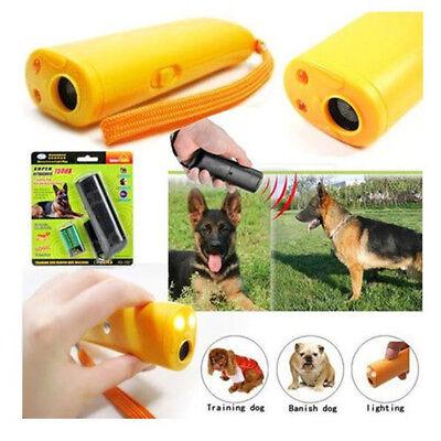 UK Ultrasonic Anti Bark Barking Dog Training Repeller Control Trainer device