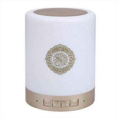 Portable Quran Wireless Bluetooth Speaker LED Touch Lamp TF Card FM Radio NEW 6