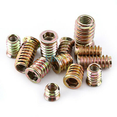 Select Size M2 M26 Steel Nut Solid Insert Thread Repairing Metal Threads