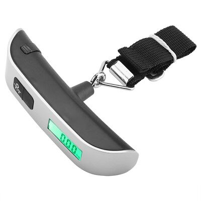 Portable Travel Tare Hanging Digital Suitcase Luggage Weight Scale 50kg 10g 6