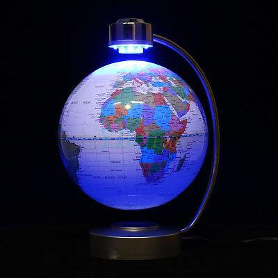 4 Of 12 8 Inch Magnetic Levitation Floating Globe Office Desktop Educational Decor Gift