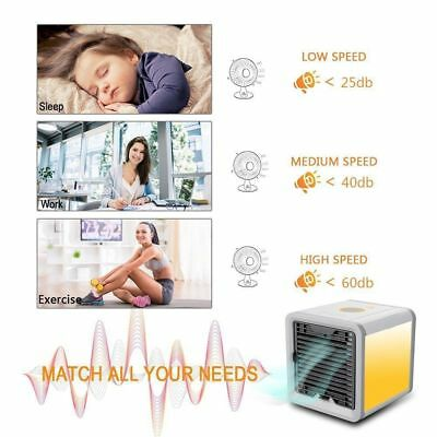 2018 Arctic Air Personal Air Cooler Humidifier Porable Fans Home Office Travel