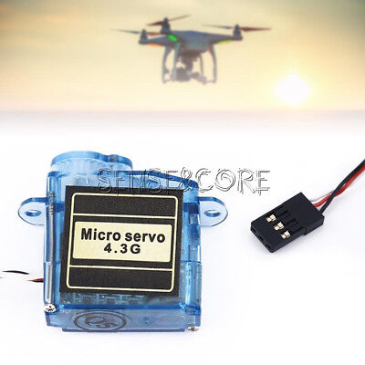 Mini Micro Servo 3.7g / 4.3g für Aeromodelling Flight Aircraft Direction Control 6