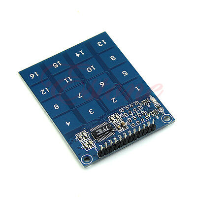 TTP229 16 Channel Capacitive Touch Switch Digital Touch Sensor Module Fr Arduino
