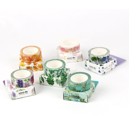 Moon Scenery Animals Paper Sticky Adhesive Sticker Scrapbooking Washi Tapes Hot