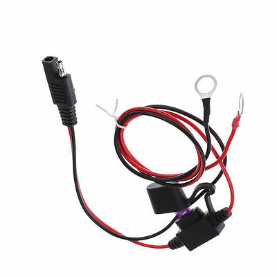 Battery Tender SAE DC Power Automotive DIY Connector Cable with FuseHK