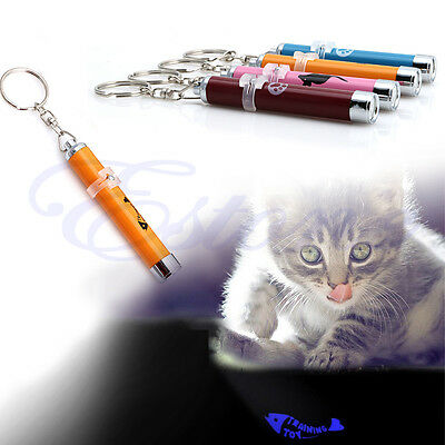 LED Funny Cat Dog Laser Pointer Light Pen With Bright Mouse Animation Pet Toys 4