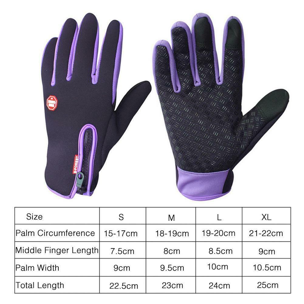 Winter Outdoor Sports Windstopper Gloves Waterproof Thermal Cycling Gloves hot
