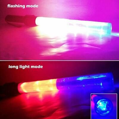 Traffic Control Rescure Signal LED Light Wand Road Safety Warning Baton Supply 7