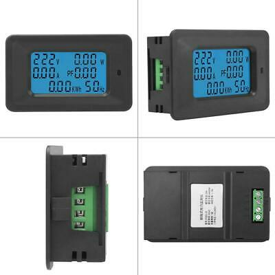 6 in 1 Digital AC Meter Voltage 110V-250V Current 20A Power Factor KWH Frequency 3