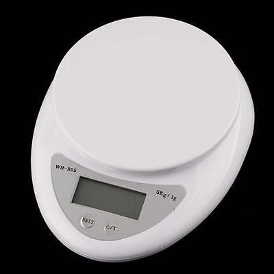 5kg 5000g/1g Digital Electronic Kitchen Food Diet Postal Scale Weight Balance Ar 7