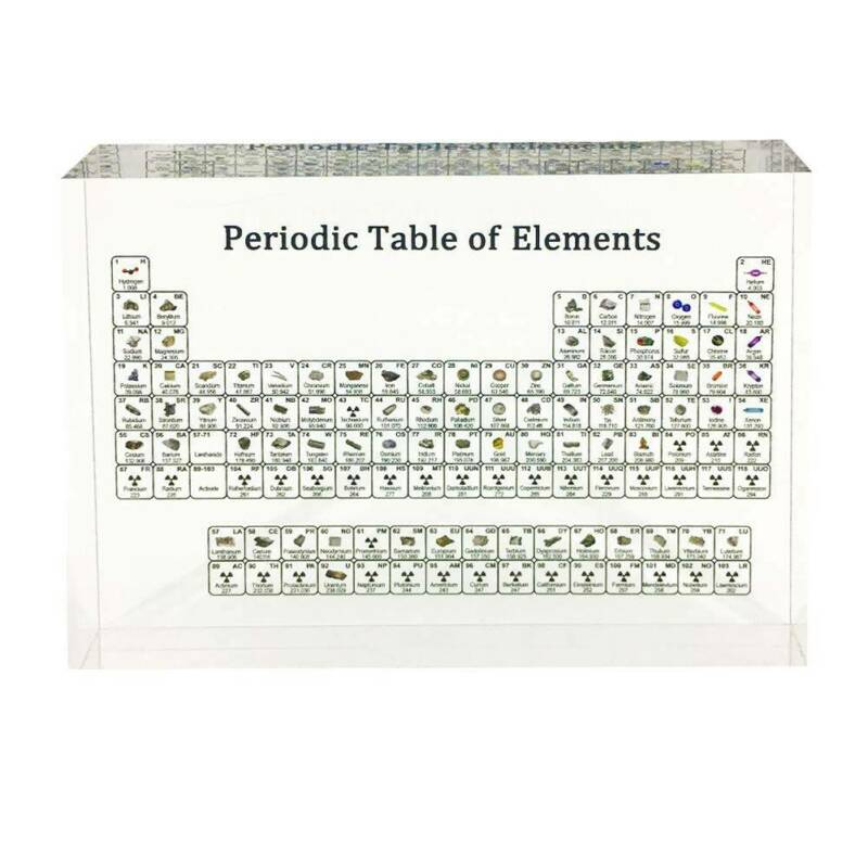 Periodic Table of the Elements Display for Home Decor School Teaching Chemistry 5