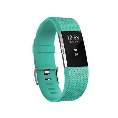 10 Pack Replacement Wristband For Fitbit Charge 2 Band Silicone Fitness Large