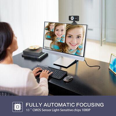 Full HD 1080P Web Cam Desktop PC Video Calling Webcam Camera with Microphone Mic 9