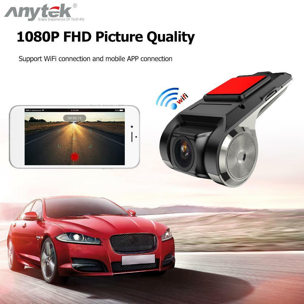 Anytek X28 FHD 1080P 150° Dash Cam Car DVR Camera Recorder WiFi ADAS G-sensor 9
