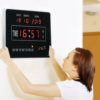 Calendrier électronique multifonctionnel avec horloge numérique et affichage 5