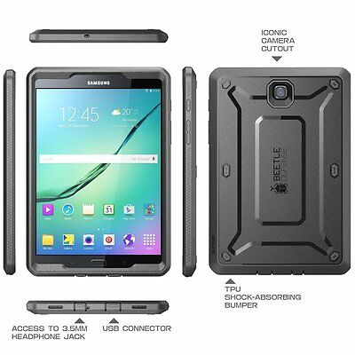 Samsung Galaxy Tab S2 8.0 Case SUPCASE UB PRO Tablet Cover with Screen Protector 2