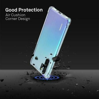 For Huawei P30/ Pro Lite Nova 5T Clear Case Slim Heavy Duty Soft Clear Gel Cover 3