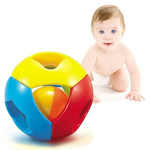 2016 Cute Handbells Musical Developmental Toy Bed Bells Kids Baby Toys Rattle GA