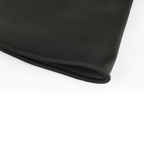 Schwarze Latex Stulpen HandschuheSäure- und laugenb Industriell  Naturkautschuk 9