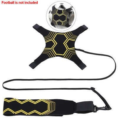 Adjustable Football Kick Trainer Soccer Ball Train Aid Equipment Practice Belt 3