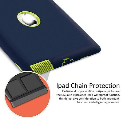 """Heavy Duty Shockproof Case Cover For New iPad 6th Gen 9.7"""" iPad 4 3 2 mini Air 6"""