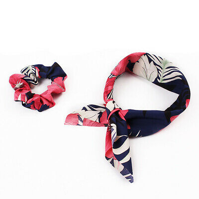 Attractive Ponytail Scarf Bow Elastic Hair Rope Tie Scrunchies Ribbon Hair Bands 9