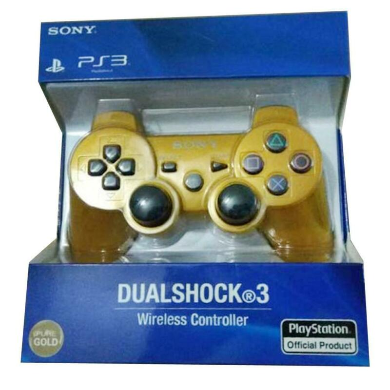 PS3 For PC Wireless Bluetooth Remote Dual Shock Controller Gamepad Joystick 5