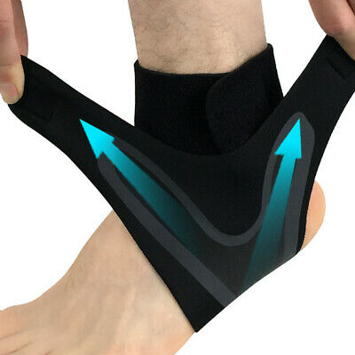 Elastic Ankle Foot Support Brace Sleeve Guard Football Basketball Protector Film 4