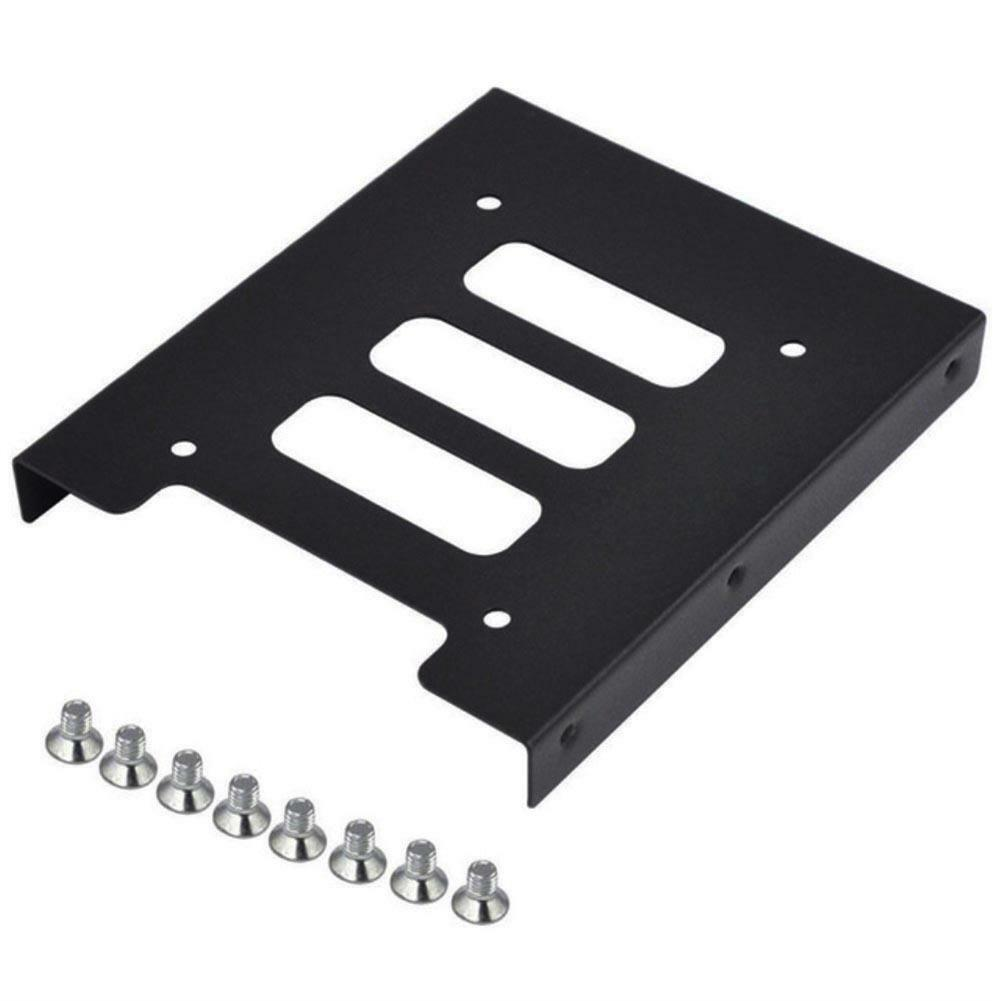 2.5in to 3.5in SSD to HDD Metal Mounting Adapter Bracket Dock Hard Drive Holder