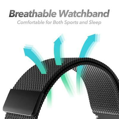 Milanese Loop Strap Watch Replacement Band Fit For Apple Watch Series 1/2/3/4 5