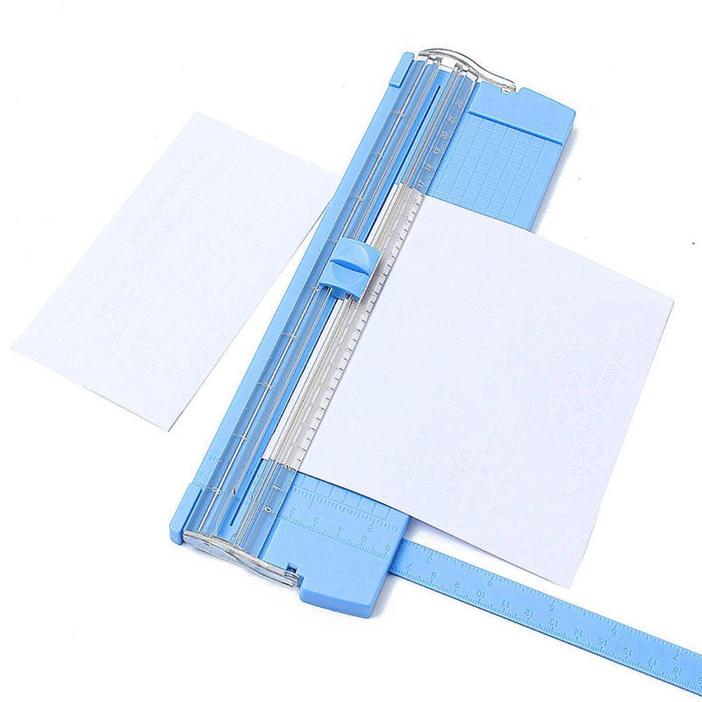 Mini A4 Precision Photo Paper Card Art Trimmer Cutter Cutting Mat Blade Office 4