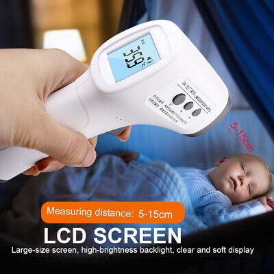 Non Contact Digital Infrared Temporal Forehead Thermometer Gun Body Temperature 11