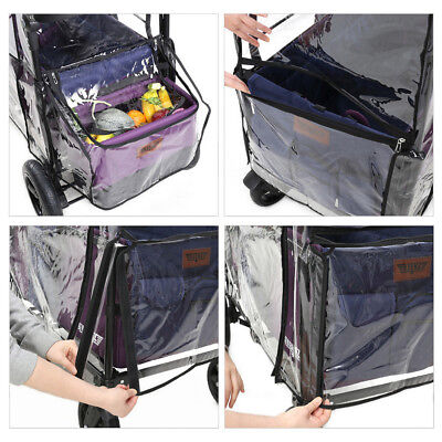 KEENZ 7S Moov Wagon Stroller Weather Shield Waterproof Dust Wind Snow Rain Cover 7