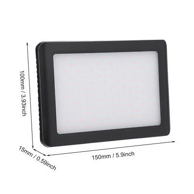 Pad 192 LED Video Light 3200-6000K for DSLR Camera DV Camcorder with Hot Shoe LS 12