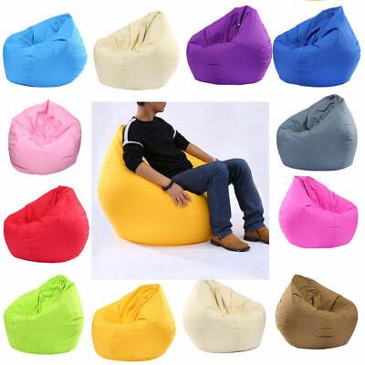 Large Bean Bag Gamer Beanbag Adult Outdoor Gaming Garden Big Arm Chair UK 3