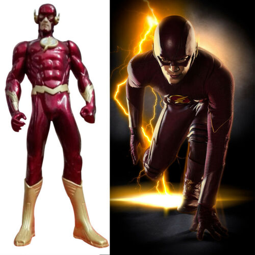 Kids Toy The Flash Barry Allen Superhero COMICS JUSTICE LEAGUE ACTION FIGURES UK