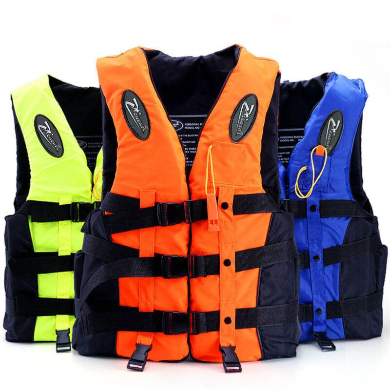 FR Adulte Enfants Gilet de Sauvetage Sécurité Flottante Navigation à Voile 3