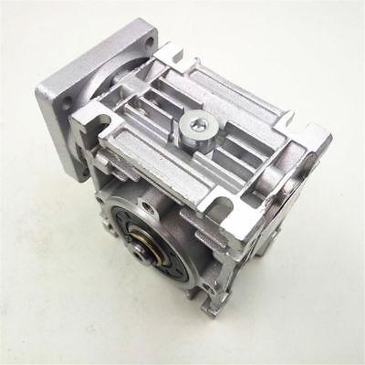 1PC NMRV-030 Worm Gear Speed Reducer NEMA23 Ratio 10 20 30 40 50 60 80:1 57*57mm 6