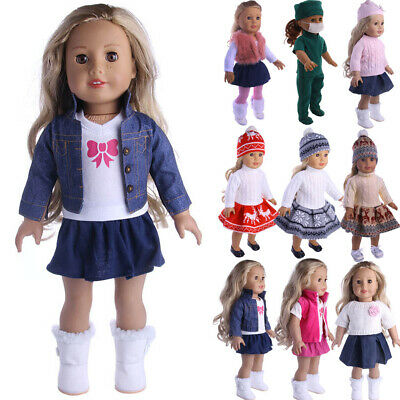 """Doll Clothes Pajames Laceskirt for 18"""" American Girl Our Generation My Life Doll 2"""