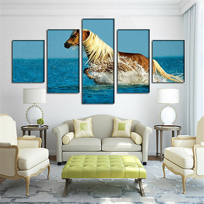 Large Canvas Huge Modern Home Wall Decor Art Oil Painting Picture Print No Frame 4
