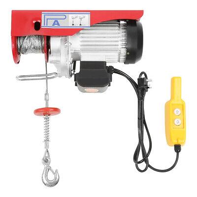 Scaffold Winch Electric Warehouse Garage Overhead Gantry Hoist Lifting Max 600KG 10