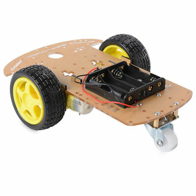2WD Robot Smart Car Chassis DIY Kits Intelligent Engine Arduino Raspberry Pi 4